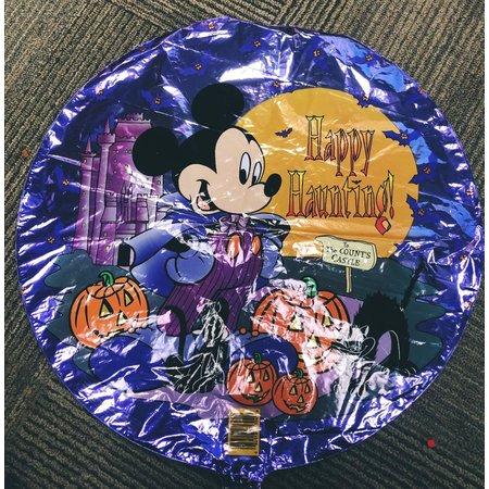 "M&D industries ***Mickey Happy Haunting 18"" Mylar Balloon"