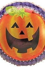 ***Halloween Jack O Lantern Mylar Balloon