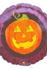 ***Halloween Pumpkin Mylar Balloon