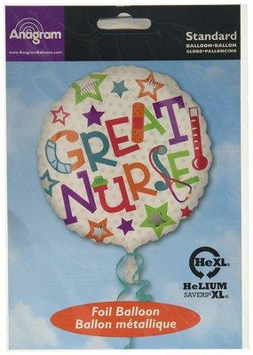 ***Great Nurse Mylar Balloon