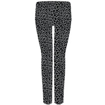 ***Gray Leopard Leggings