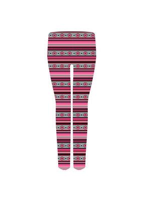 ***Pink Aztec Leggings