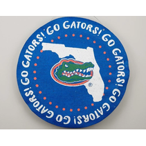 ***University of Florida Gators Burlee Door Hanger