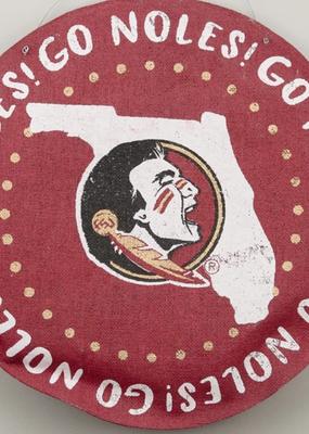 Glory Haus ***Florida State Seminoles Burlee Door Hanger