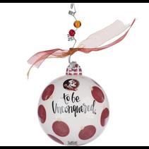 ***Florida State Seminoles Mascot Ball Ornament