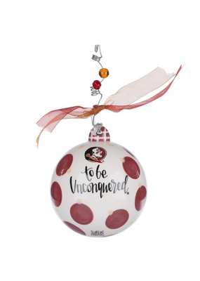 Glory Haus ***Florida State Seminoles Mascot Ball Ornament