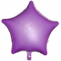 ***Pearl Lavender Star Mylar Balloon