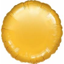 ***Gold Round Mylar Balloon