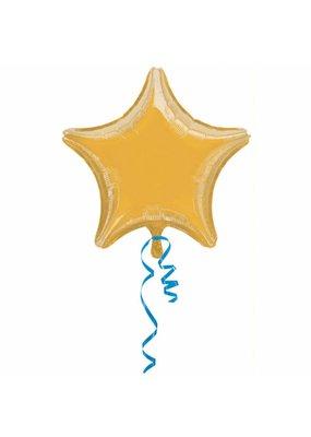 ****Gold Star Mylar Balloon