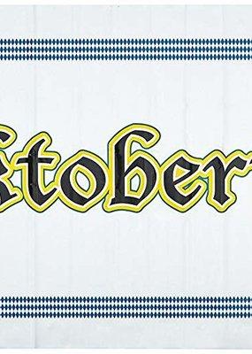 ***Oktoberfest 5ft Plastic Banner with Grommets