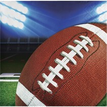 ***Football Party Beverage Napkins 16ct