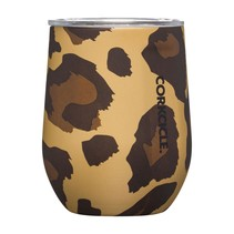 ***Luxe Leopard Stemless