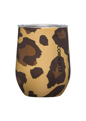 Corkcicle ***Corkcicle Leopard Stemless Wine Glass