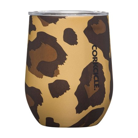Corkcicle ***Luxe Leopard Stemless