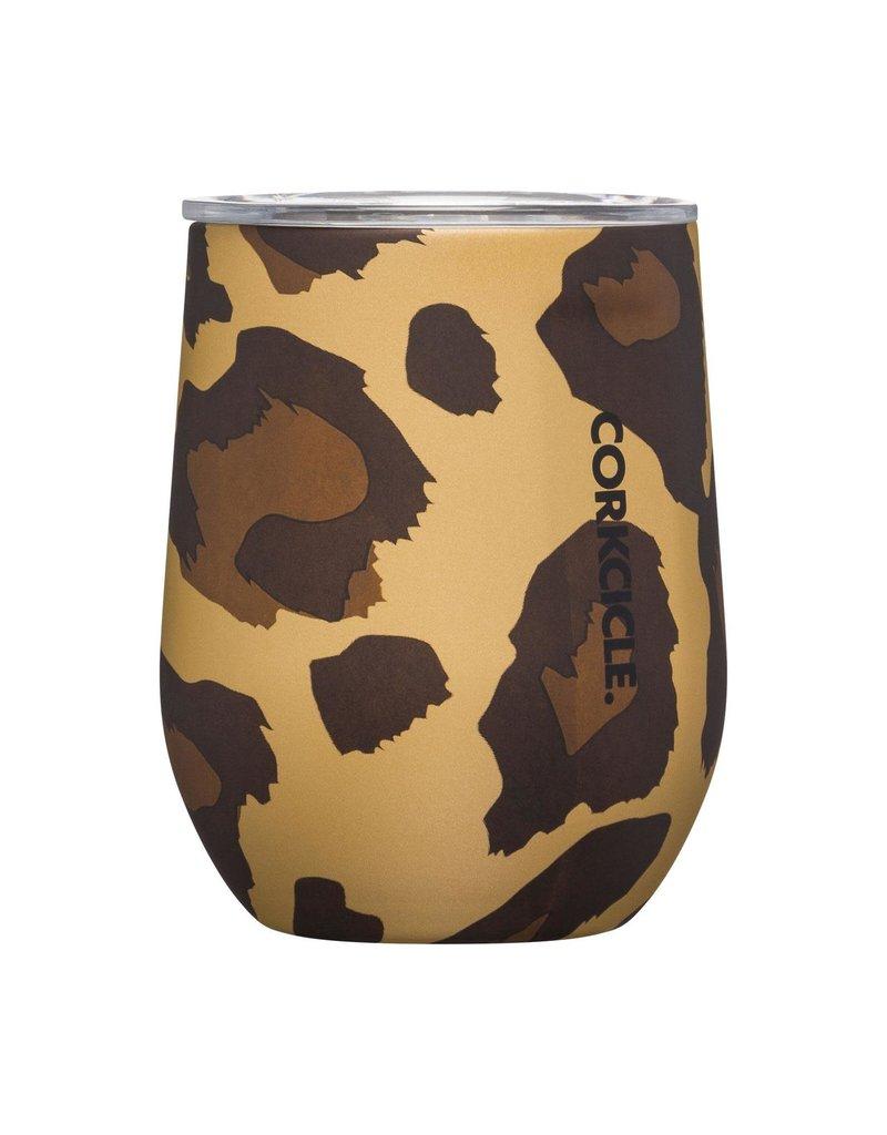 Corkcicle ***Corkcicle Leopard Stemless Wine Glass