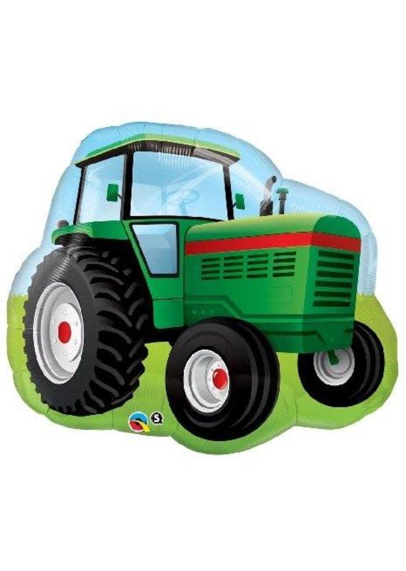 "*****Farm Tractor Large 34"" Mylar Balloon"