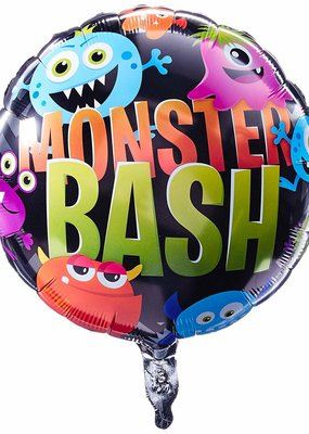 "***Monster Bash Party 18"" Mylar Balloon"