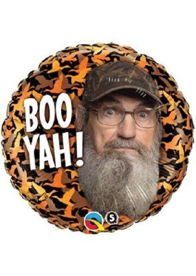 "***Duck Dynasty Uncle Cy 18"" Mylar Balloon"