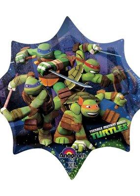 "***Teenage Mutant Ninja Turtle 35"" Mylar Balloon"
