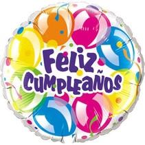 ***Feliz Cumpleanos Spanish Birthday Mylar Balloon