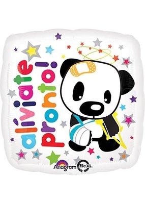 ***Aliviate Pronto Spanish Get Well Soon Mylar Balloon