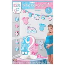 ***Gender Reveal Decoration Kit