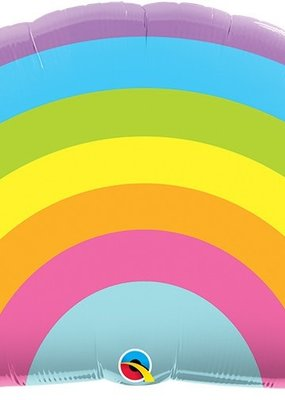 """***Rainbow 36"""" Shape Mylar Balloon"""