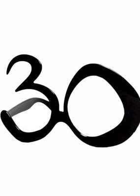 ***30th Black Eye Glasses