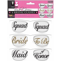 ***Bride and Team Bride Mesh Sunglasses