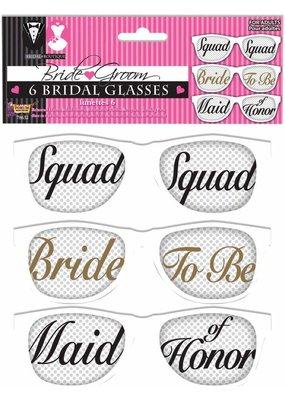 ***Bride and Team Bride Mesh Sunglasses