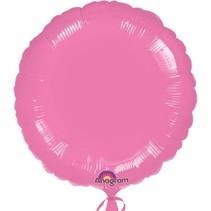 ***Metallic Lavender Pink Round Mylar Balloon
