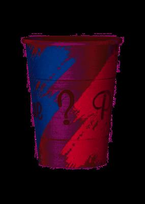 ***Pink or Blue Gender Reveal 12oz Cups