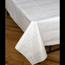 ***White Shiplap Plastic Tablecover/Backdrop