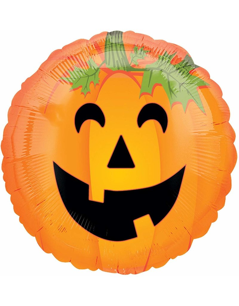 ***Pumpkin Mylar Balloon