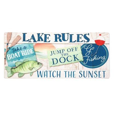 ***Lake Rules Sassafrass Switch Mat