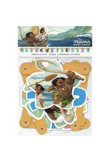 ***Moana Birthday Jointed Banner