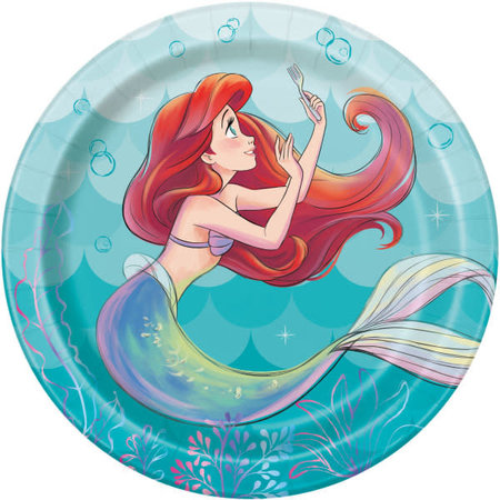 ***Little Mermaid 7in Plate