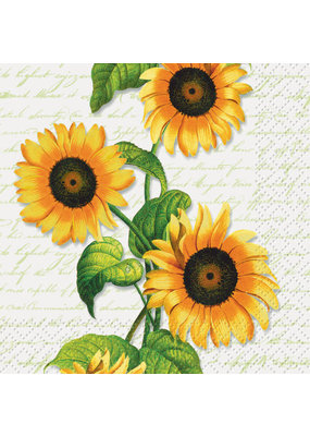 ***Sunflower Beverage Napkins 24ct