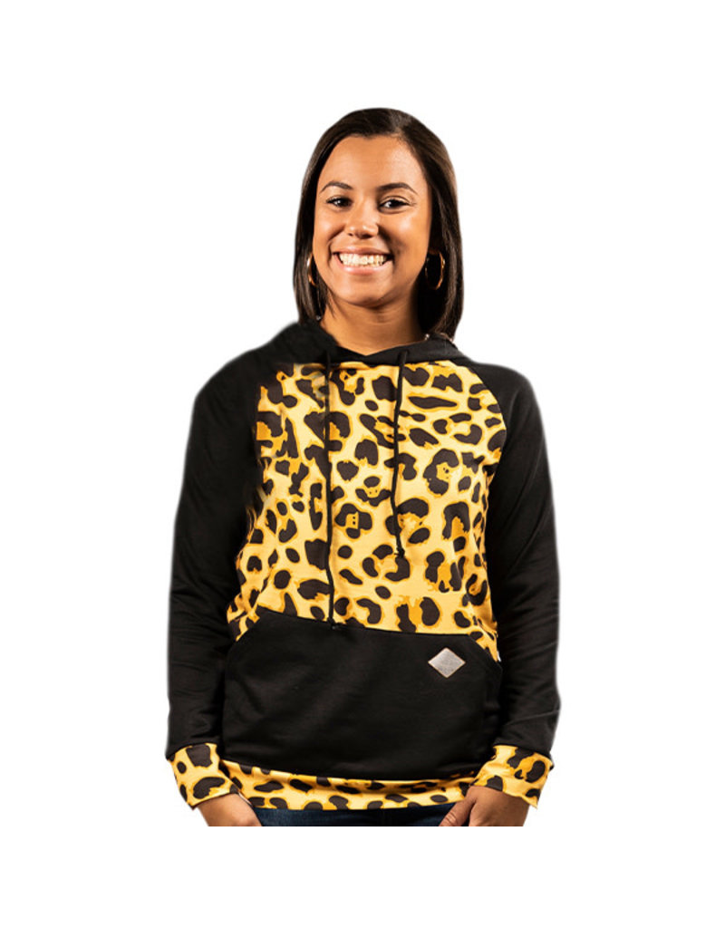 ***Simply Southern Leopard Hoodie