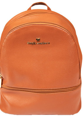 ***Honey Leather Backpack