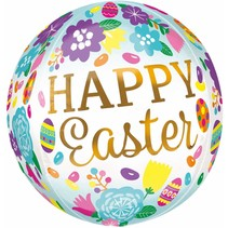 ***Happy Easter Orbz Balloon