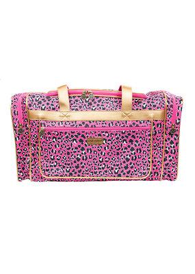 ***Pink Leopard Duffle Bag