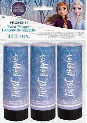 ***Frozen 2 Confetti Poppers 3ct