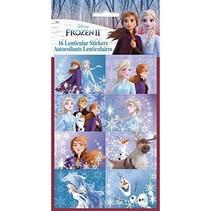***Frozen 2 Lenticular 3D Stickers 16ct