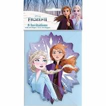 ***Frozen 2 Invitations 8ct
