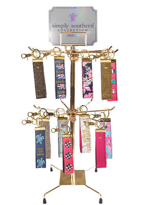 ***Simply Southern Leather Key Fobs