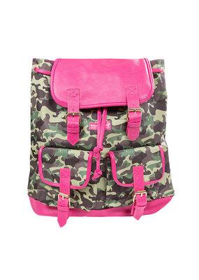 ***Camo Pink Bookbag