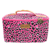 ***Pink Leopard Glam Bag