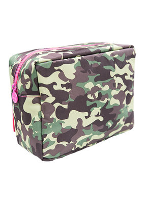 ***Pink Camo Cosmo Bag