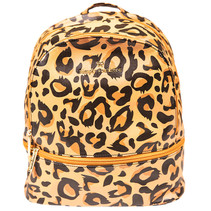 ***Cheetah Leather Backpack